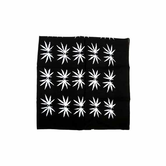 Bandana grande foglie cannabis
