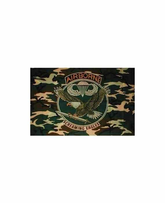"""Bandiera Stile Camouflage """"Airborne"""""""