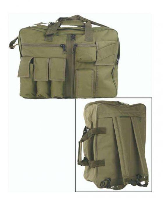 Borsa Militare Multi Tasche Verde da 35 Litri