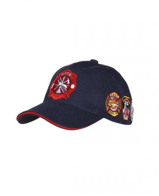 """Cappellino da Baseball Blu Stile Vigili del Fuoco """"NYFD"""""""