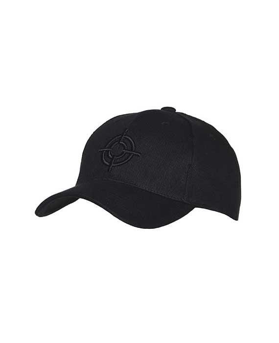 "Cappello Stile Baseball ""Fostex"" Logo Mirino Nero"