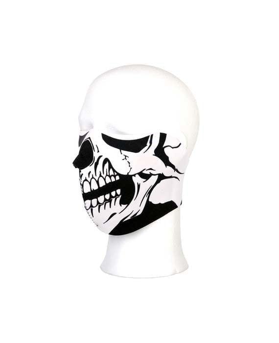 Mascherina facciale con teschio