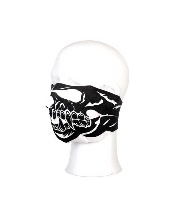 maschera bocca bocca