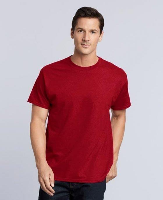 Maglietta in Cotone Rosso