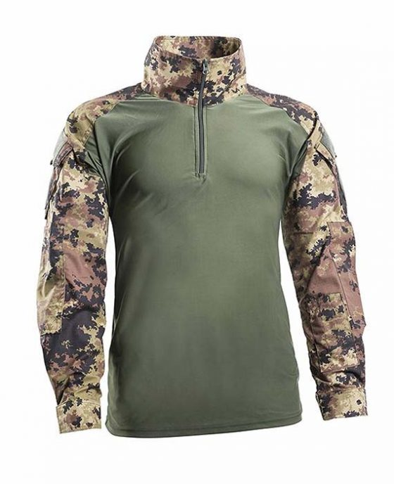 Tactical Shirt cotone Vegetata