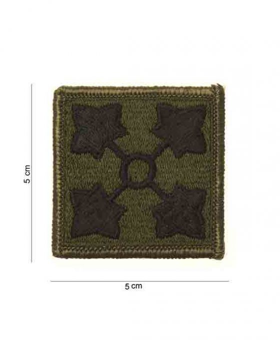 """Patch in Tessuto """"4th Infantry Ivy Division"""""""