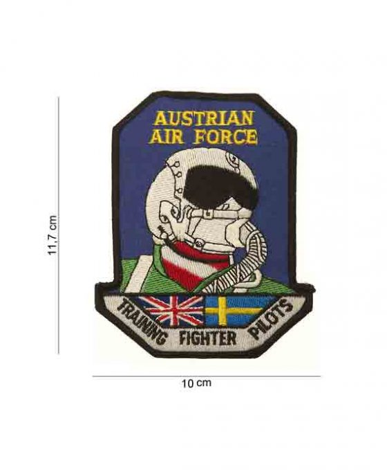 """Patch in Stoffa """"Austrian Air Force"""""""