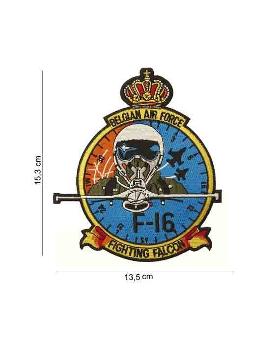 """Patch in Tessuto Belgian Air Force Fighting Falcon"""""""