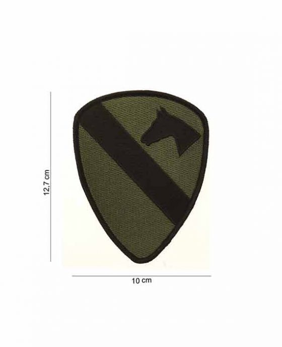 """Patch in Tessuto """"Cavalleria US ARMY Verde"""""""