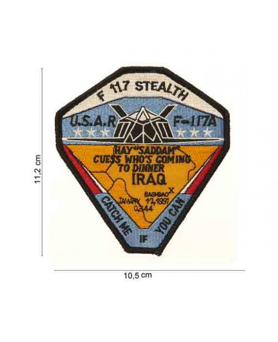 """Patch in Stoffa """"F117 Stealth"""""""