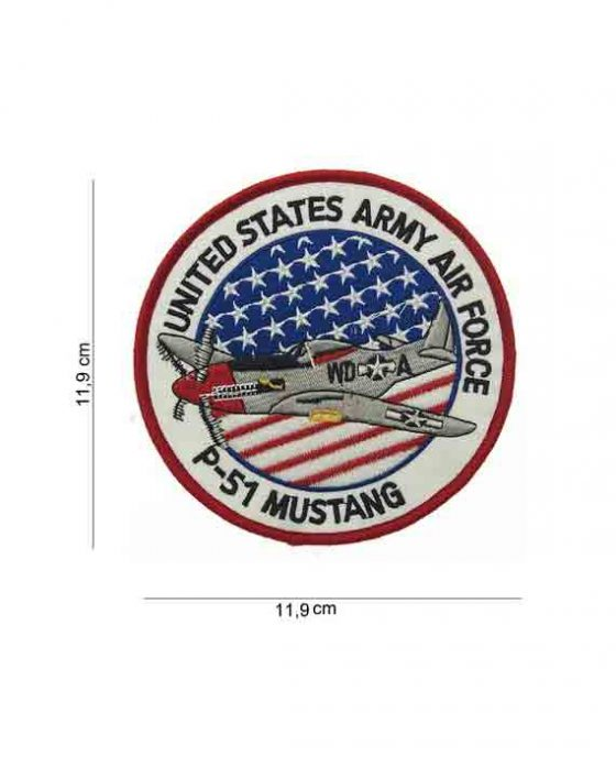 Patch in Tessuto P51 Mustang Grande