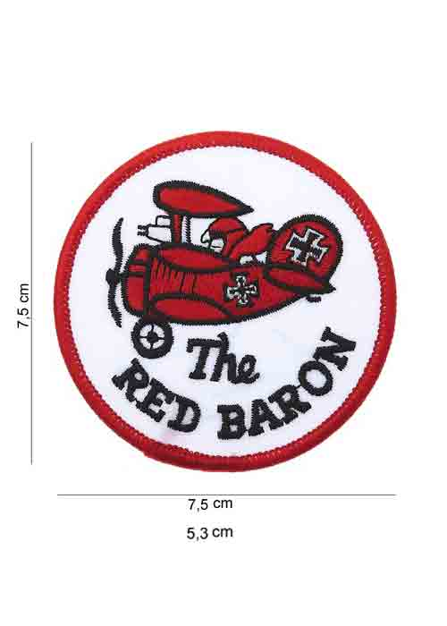 "Patch in Tessuto ""The Red Baron"""