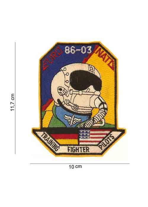 "Patch in Tessuto ""Euro 86-03 Nato"""