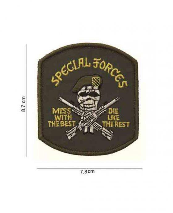 """Toppa Teschio Militarizzato """"Special Forces"""""""