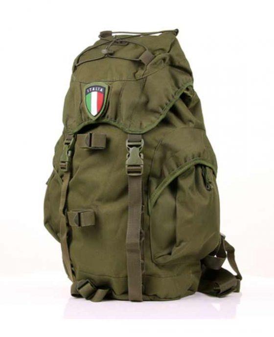 Zaino Recon Italia da 25 Litri Verde con Velcro