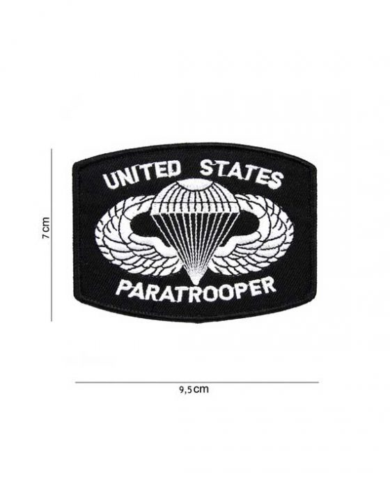 "Patch in Tessuto ""UNITED STATES PARATROOPER"""