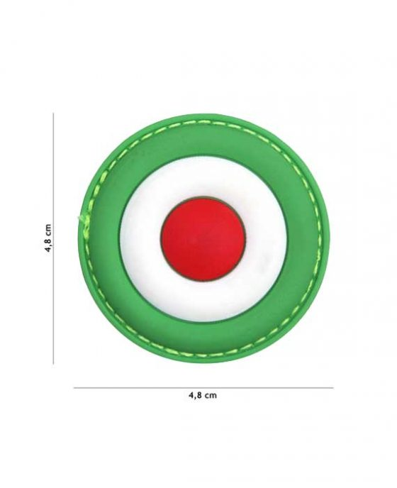 "Patch in PVC Effetto 3D ""Italia Air Force"""
