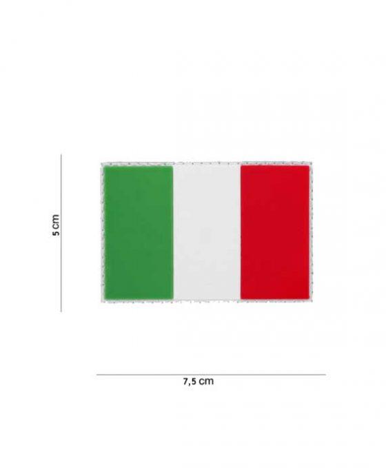 """Patch in PVC effetto 3D """"Bandiera Italiana"""""""