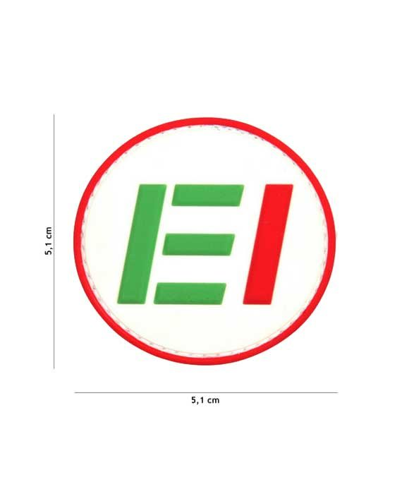 "Patch 3D in PVC Iniziali ""ESERCITO ITALIANO"""