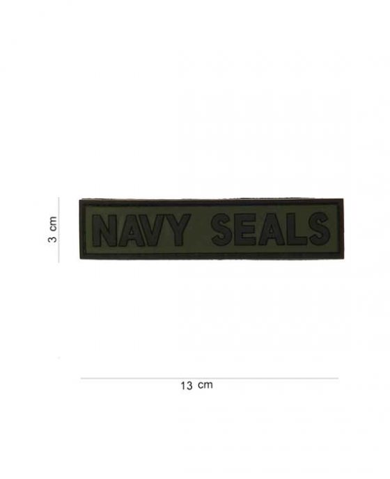 """Patch 3D in PVC """"Navy Seals"""""""
