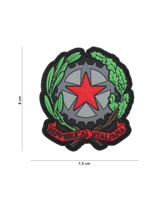 "Patch 3D in PVC ""Repubblica Italiana"""