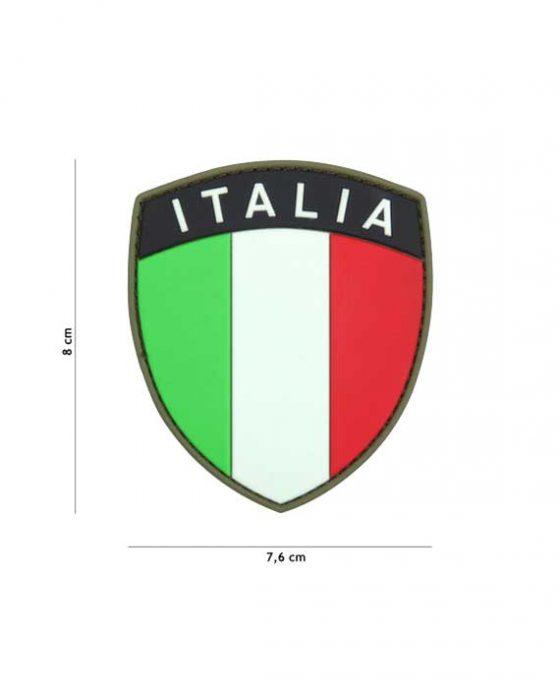 """Patch in PVC Effetto 3D """"Scudetto ITALIA"""""""