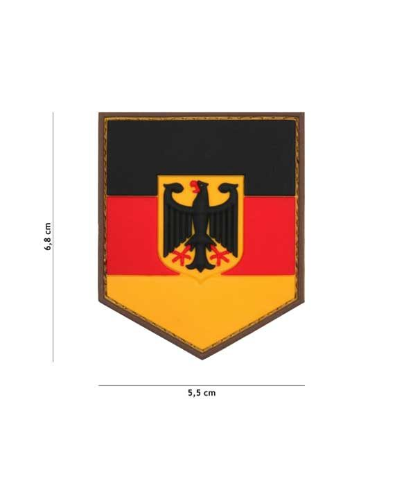 "Patch 3D in PVC ""Scudo Germania"""