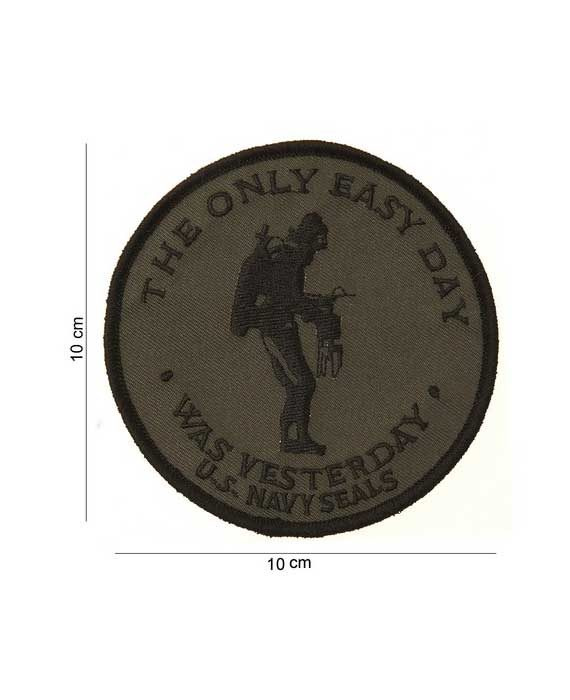"Patch in Stoffa ""The Only Easy Day"""