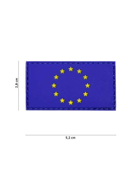 "Patch in PVC stile 3D ""UNIONE EUROPEA"""
