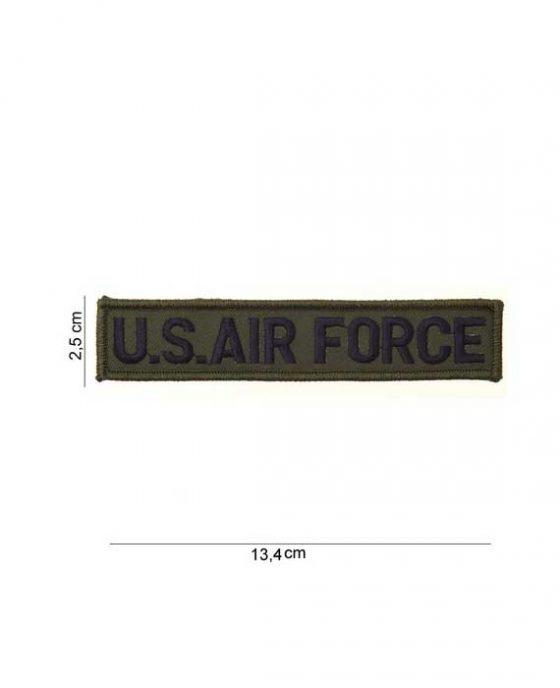 """Patch Striscia in Tessuto """"U.S. Air Force"""""""