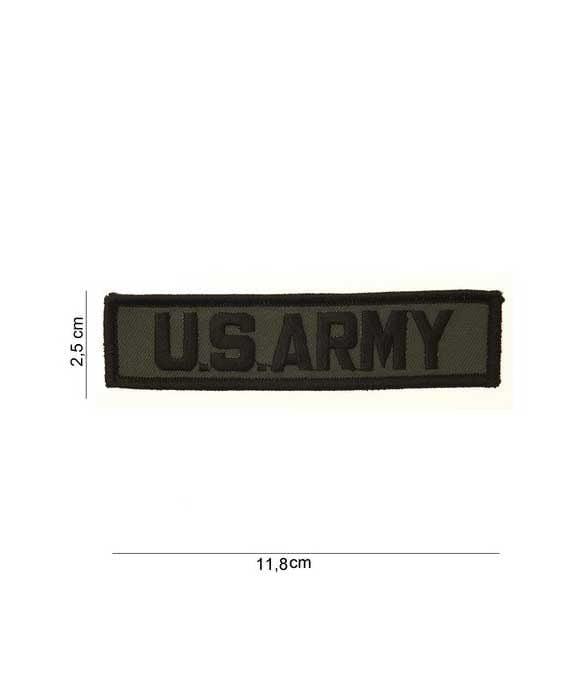 """Patch in Tessuto Striscia """"U.S. ARMY"""""""
