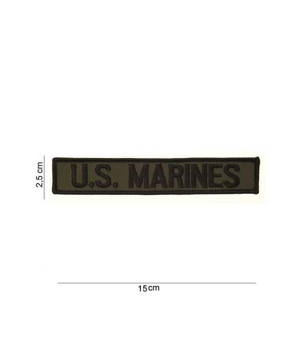 "Toppa Striscia in Tessuto ""U.S. Marines"""