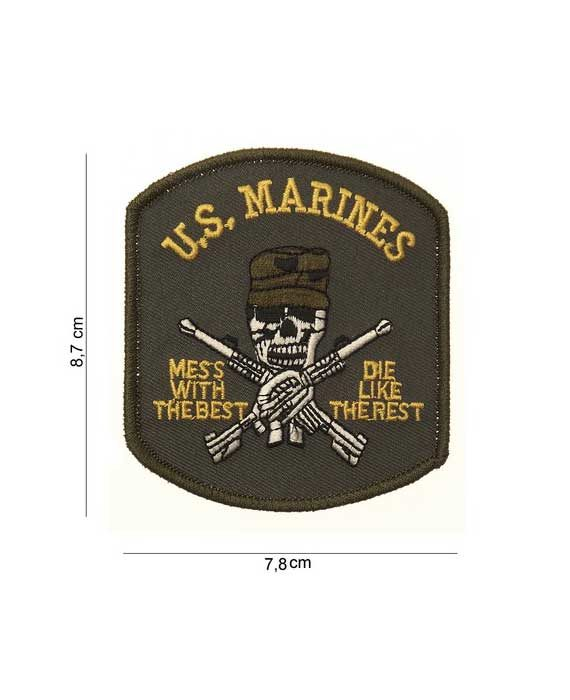 "Patch in Tessuto ""US Marines (Teschio)"""