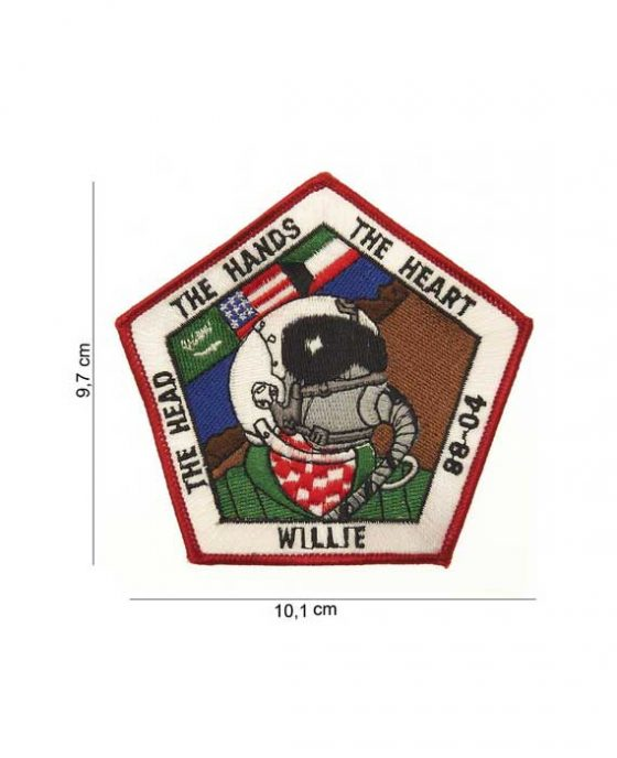 "Patch in Stoffa ""Willie 88-04"""
