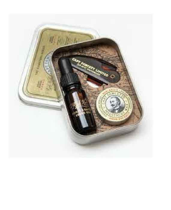"Kit Olio Pettine e Cera ""CAPTAIN FAWCETT"""