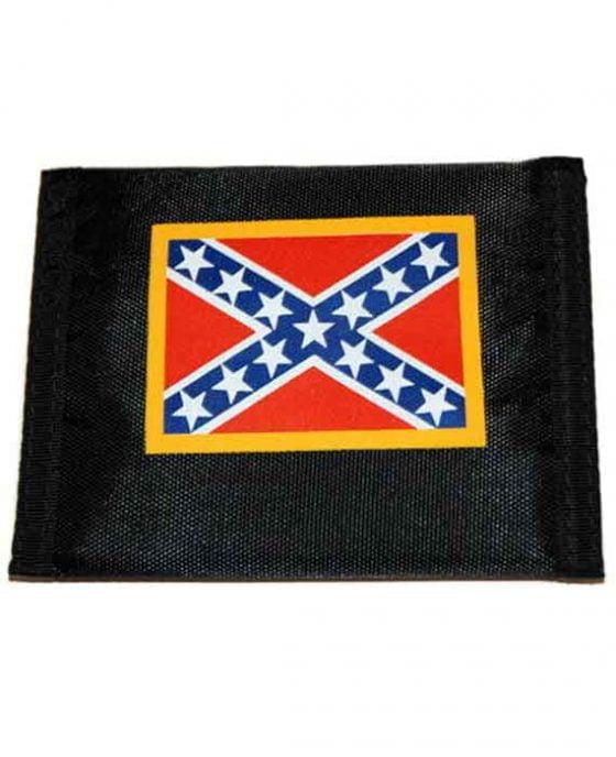 Portafogli Stemma Bandiera Degli Stati Confederati D'America