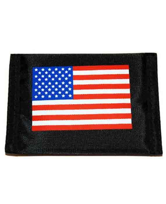 Portafogli con Stemma Bandiera USA