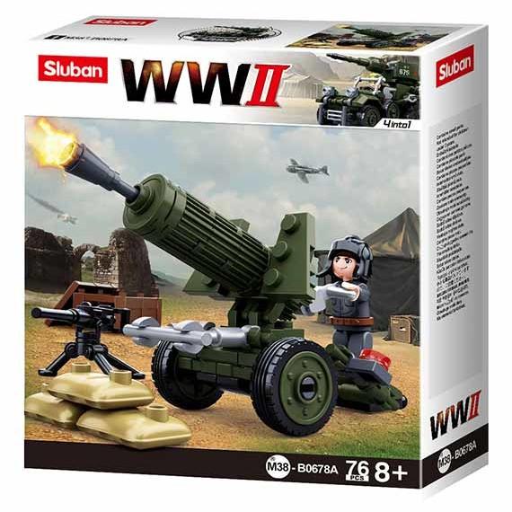 SLUBAN-WWII-4IN1-ARMY-MODEL-A-M38-B0678A.