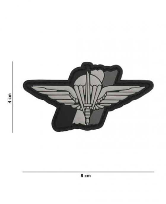 """Patch 3D in PVC """"Para Wing"""""""