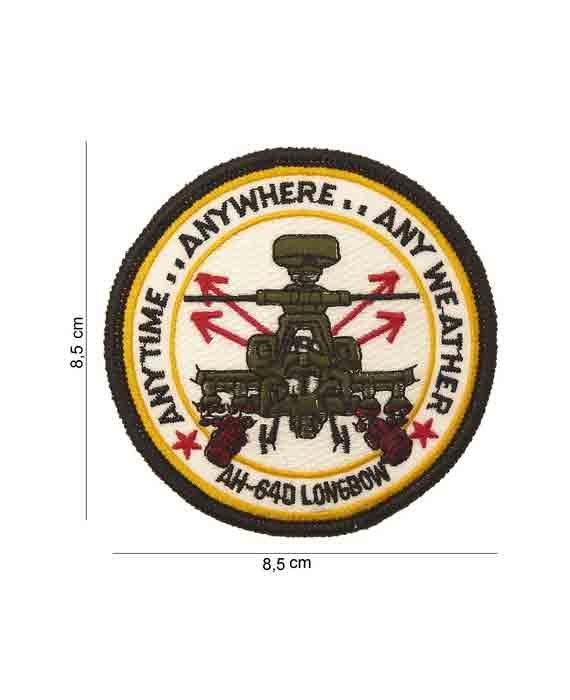 "Patch in Tessuto Militare ""AH-64D-LONGBORN"""
