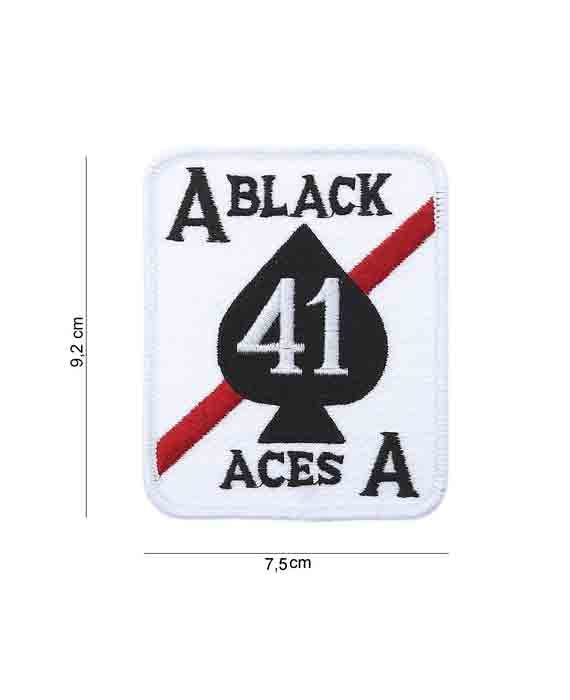 """Patch in Tessuto """"Black Aces"""""""