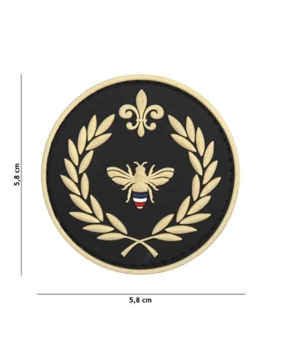 "Patch 3D in PVC ""Napoleone Ape"""