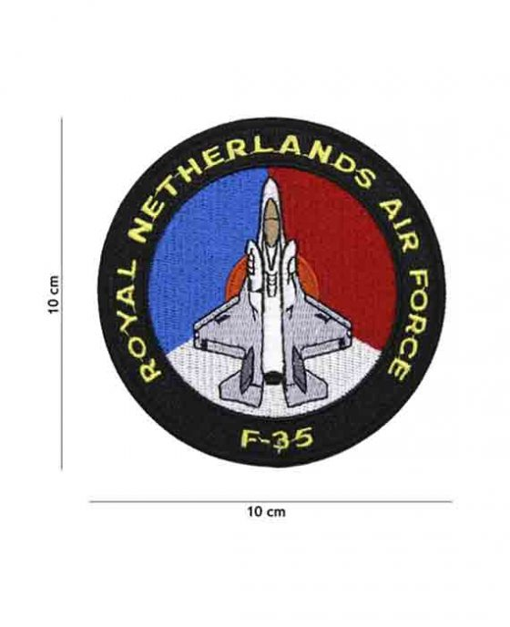 """Patch in Tessuto """"Royal Netherlands Airforce F-35"""""""