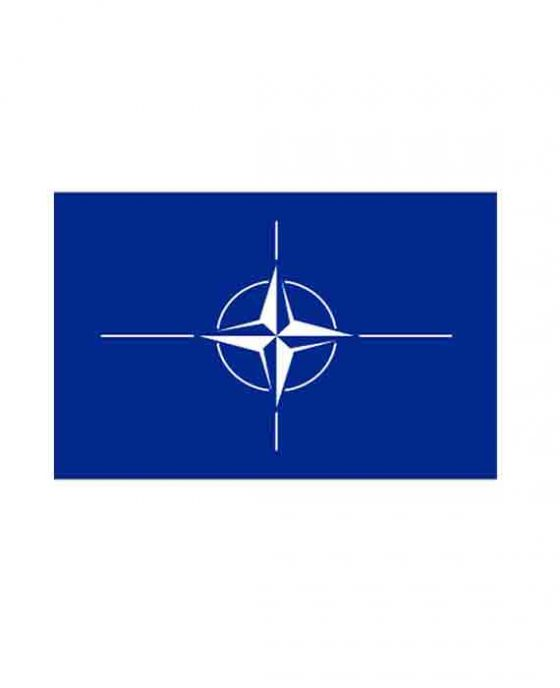 Bandera Blu Della Nato