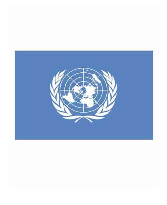 """Bandiera """"Organizzazzione delle Nazioni Unite"""""""