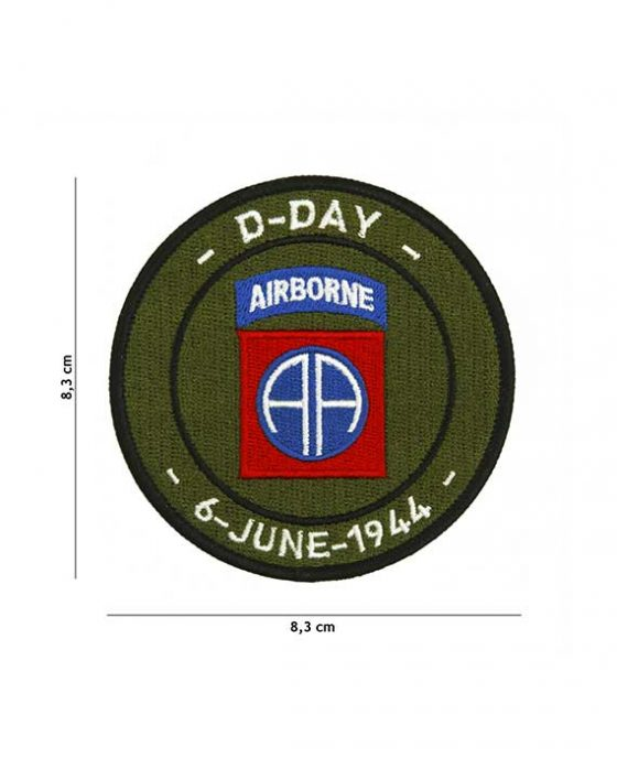 """Patch in Stoffa D-Day Airborne """"6 June 1944"""""""