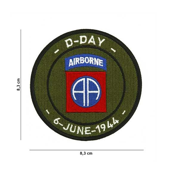 Patch D-DAY 82en airbone