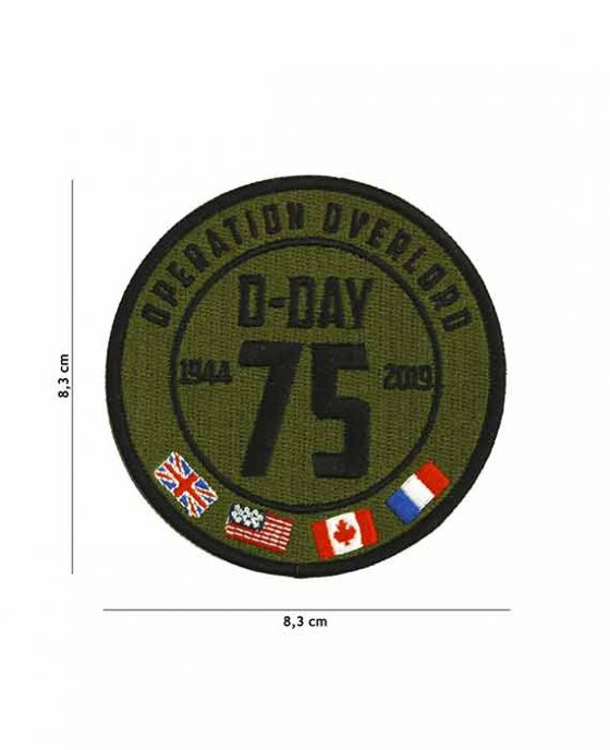"""Patch in Stoffa D-Day """"Operation Overlord"""" 1944"""