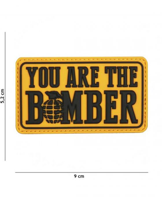 """Patch in PVC 3D """"You Are The Bomber"""""""