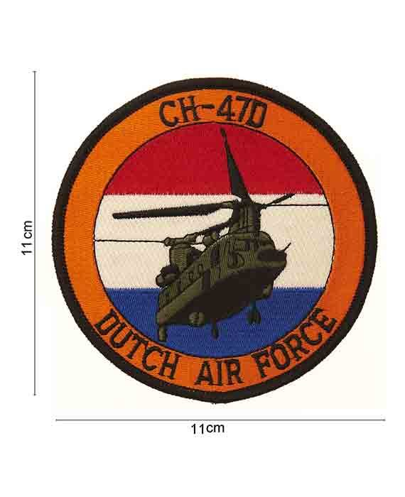 Patch in Stoffa CH-470 Dutch Air Force